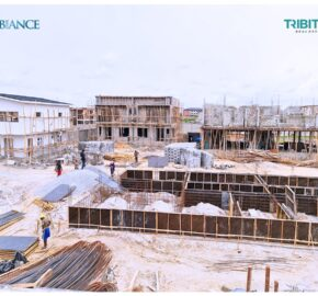 3 Bedroom Terrace at THE AMBIANCE Estate