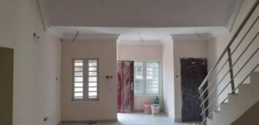 Brand new well finished 3 bedroom Duplex
