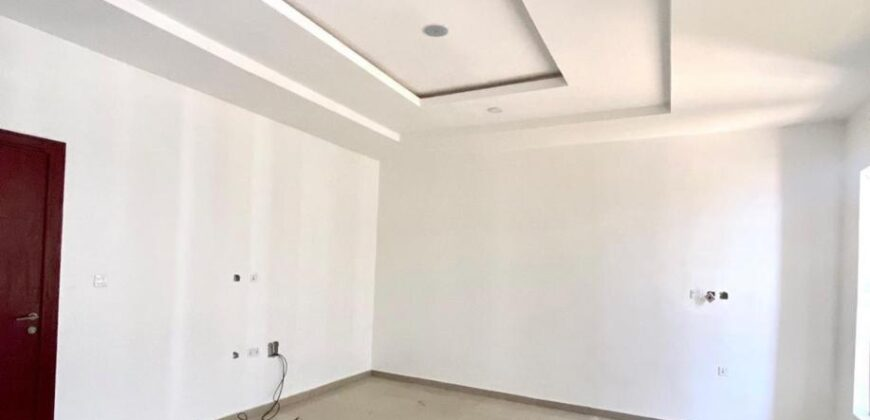 Newly built beautifully 4 bedroom serviced terrace duplex with bq … 99% finished