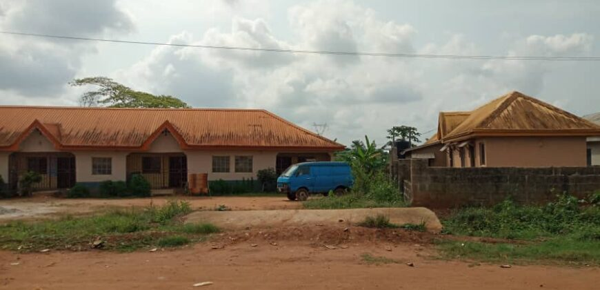 Uncompleted poultry farm and block moulding factory