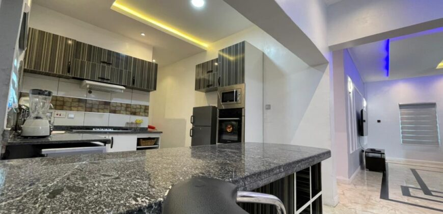 A fully furnished 3 bedroom bungalow