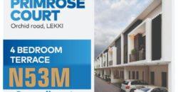 4 Bedroom Terrace PRIMROSE COURT, ORCHID ROAD, LEKKI