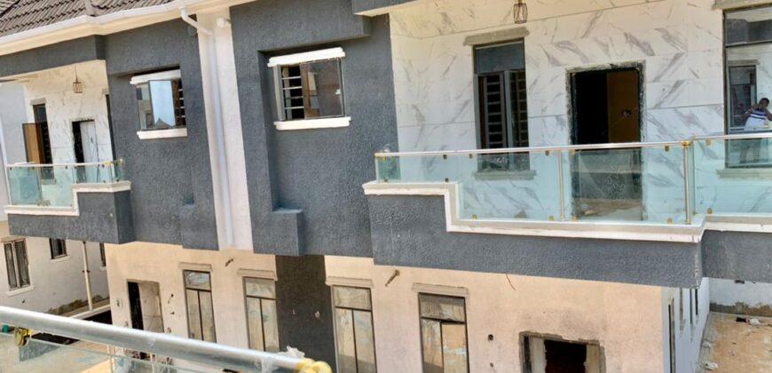 4 Bedroom Semi Detached Duplex with a Room Bq at TARTIANA COURT IKOTA