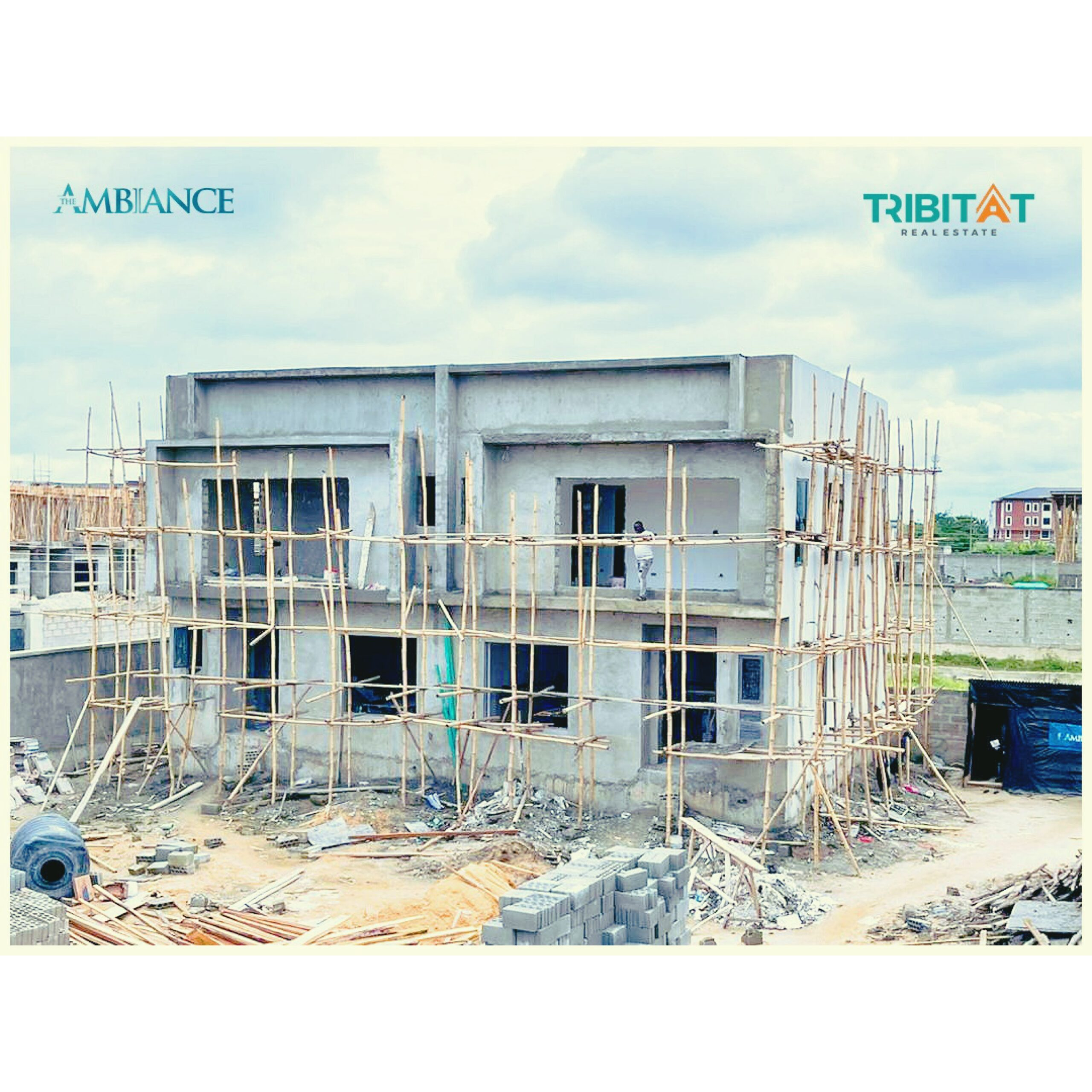 4 BEDROOM DETACHED PENTHOUSE DUPLEX WITH BQ AT THE AMBIANCE