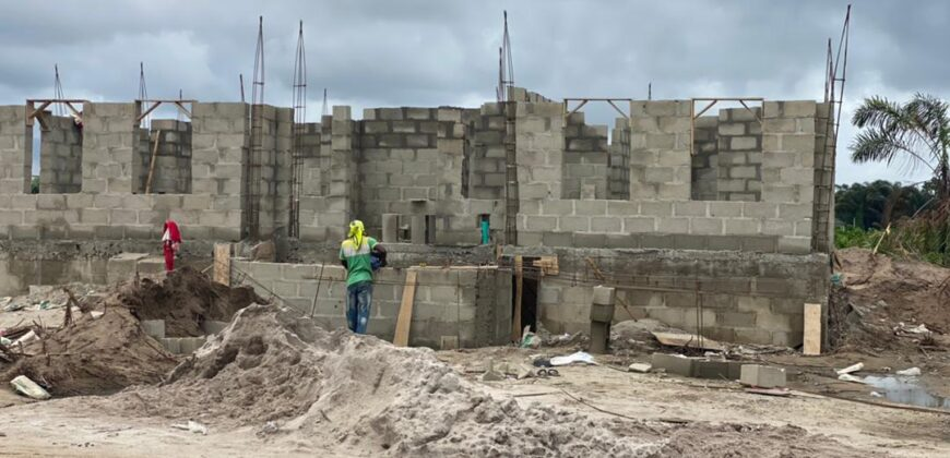 ROYALLY FINISHED 3 BEDROOM SEMI DETACHED DUPLEX CASTLE WITH BQ
