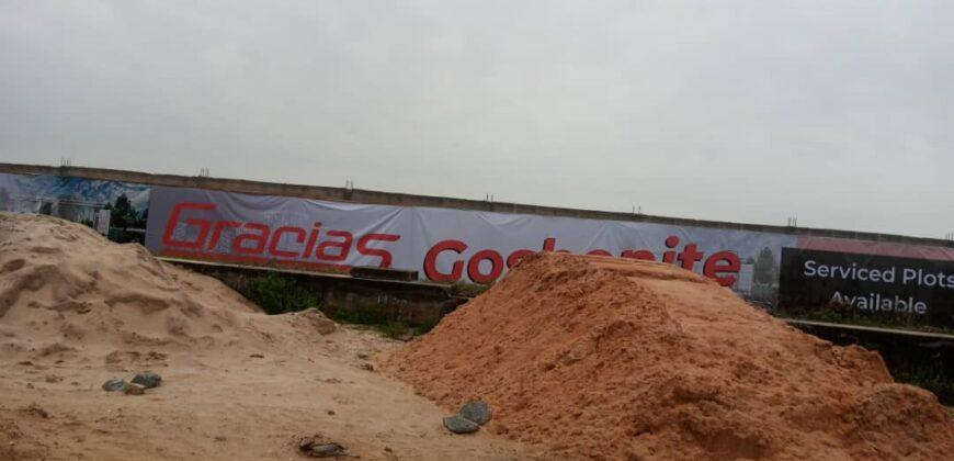 400sqm LANDS IN GRACIAS GOSHENITE OGOMBO