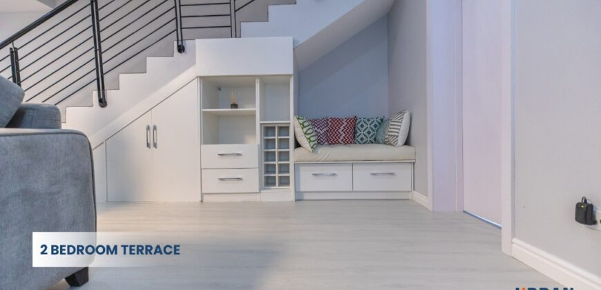 BEAUTIFULLY FURNISHED 2 BEDROOM TERRACE