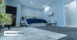 COMPLETELY FURNISHED 3 BEDROOM TERRACE