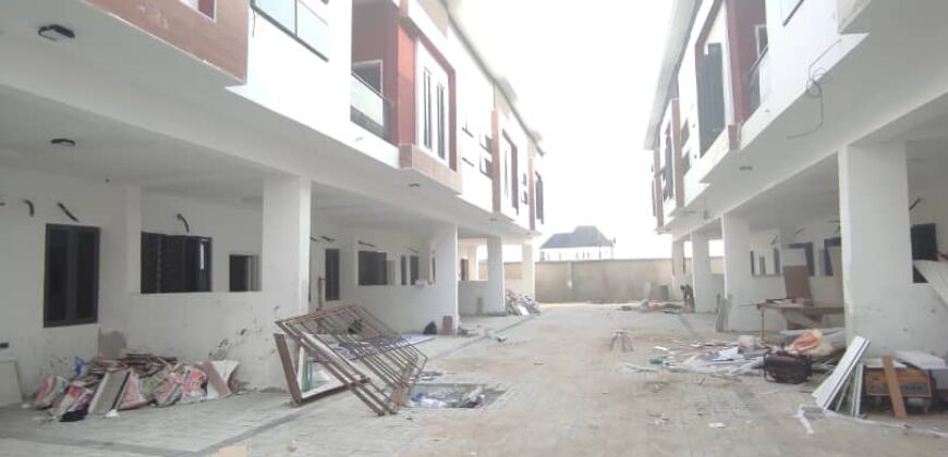 3 and 4bedroom terrace Duplex at orchid road