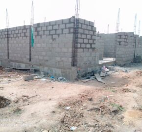 3 BEDROOM APARTMENTS IN A DEVELOPED AREA AT MAGBORO AREPO
