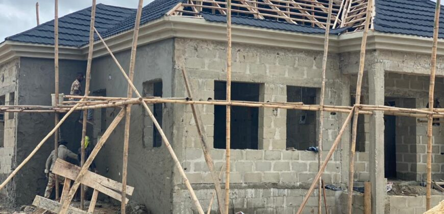 CLASSICALLY FINISHED 3 BEDROOM BUNGALOW AT DE CASTLE, AWOYAYA