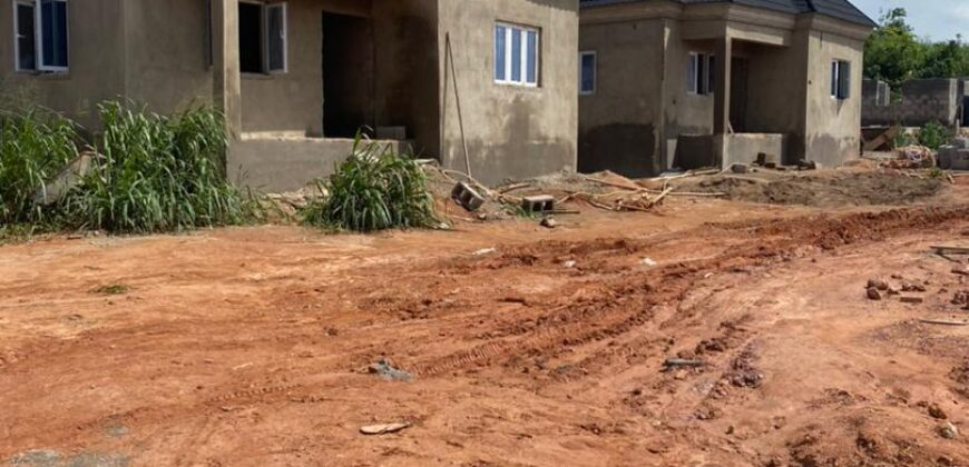 FINELY FINISHED 3 BEDROOM BUNGALOW CARCASS AT TREASURE HILLTOP ESTATE ALAGBADO