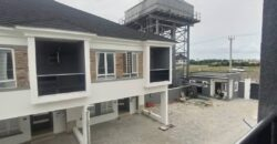 Newly built 4 bedroom terrace house at orchid road lekki lagos