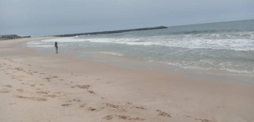 GENUINE 600SQM LANDS AT Gracias Atlantic View Estate Sangotedo