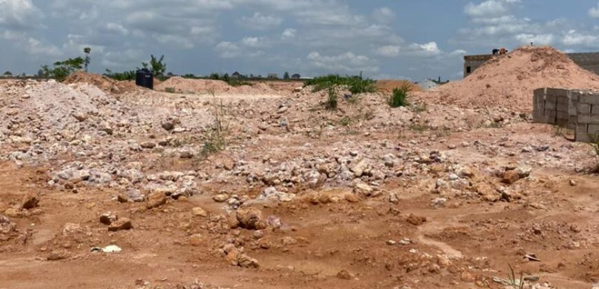AFFORDABLE DRY LANDS IN TREASURE HILLTOP ESTATE, ALAGBADO