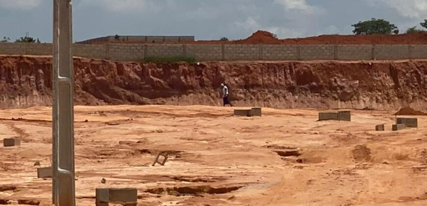 BUY AND BUILD LANDS AT TREASURE HILLTOP ESTATE ALAGBADO