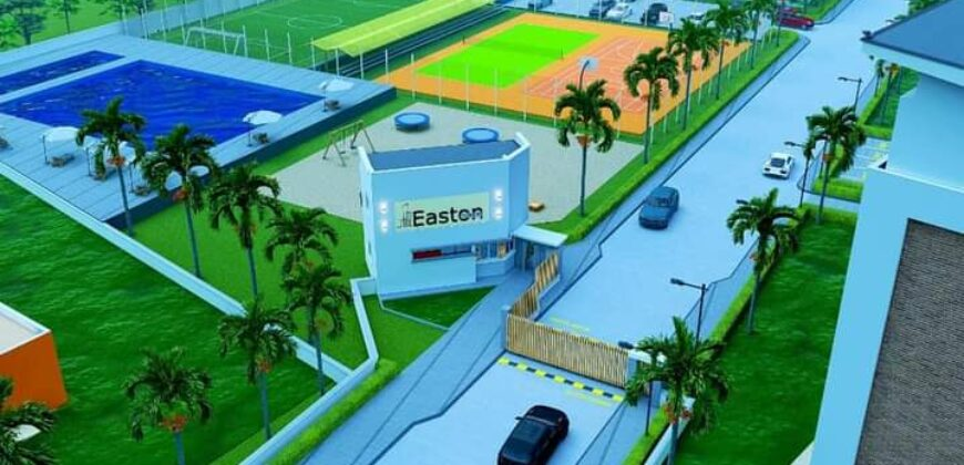 VACANT, GATED AND FENCED LANDS IN EASTON TOWER ESTATE IKEJA