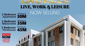 A DETAILED 3 BEDROOM PENTHOUSE IN SIGNATURE LAURELS AJAH
