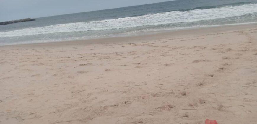 GENUINE 300sqm BEACH FRONT LANDS AT D-SHA BEACH ESTATE OKUN AJAH
