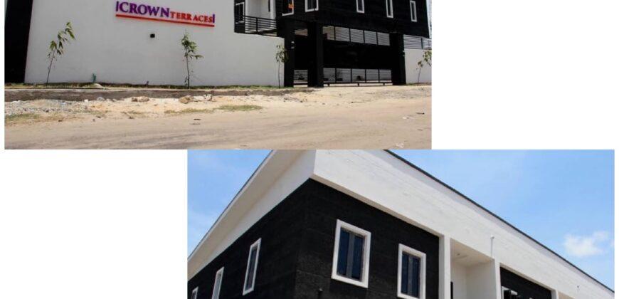 GRAND 4 BEDROOM TERRACES IN CROWN TERRACES SANGOTEDO