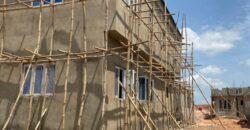 NEWLY BUILT 3 BEDROOM DUPLEX + BQ AT TREASURE HILLTOP ESTATE, ALAGBADO