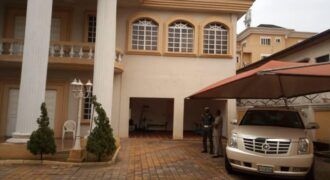 SUPER LUXURY 8 BEDROOM MANSION WITH BQ AND SWIMMING POOL IN PARKVIEW ESTATE
