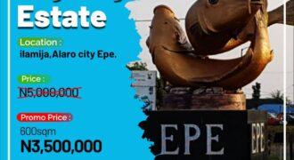 300sqm LANDS IN SKY CITY ESTATE ALARO EPE