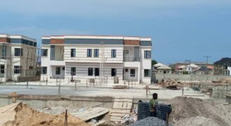 BEAUTIFULLY DESIGNED 3 BEDROOM SEMI DETACHED DUPLEX WITH BQ IN ZYLUS COURT