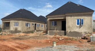 COMPLETELY FINISHED THREE BEDROOM BUNGALOW IN TREASURE HILLTOP ESTATE, ALAGBADO