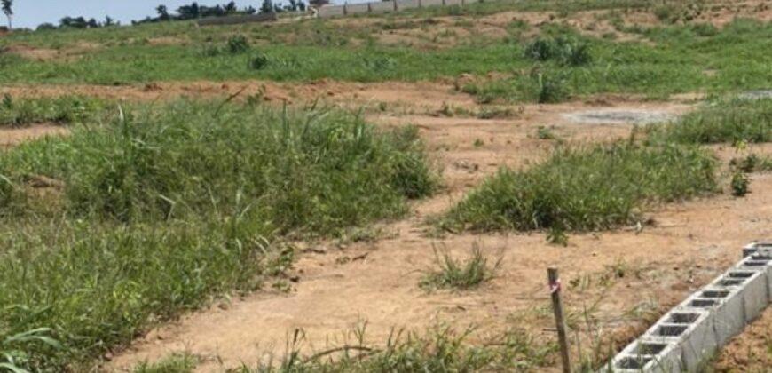 PLOTS OF LAND AVAILABLE AT TREASURE HILLTOP ESTATE, ALAGBADO